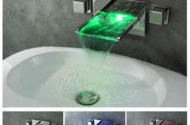 bathroom led faucet