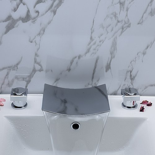 Perugia Two Handle Widespread Bathroom Sink Faucet