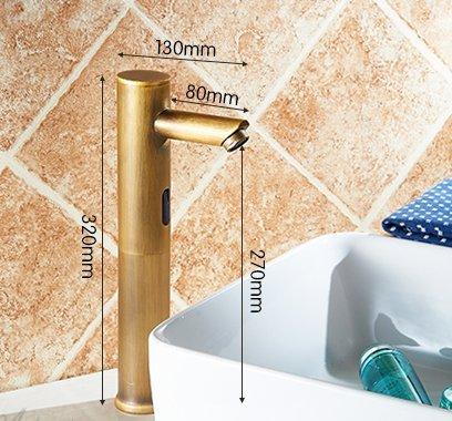 Montreal Antique Automatic Sensor Full Copper Retro Faucet