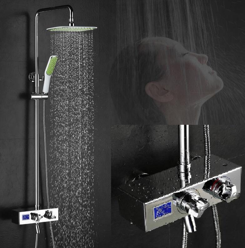 Massage Shower Head / Shower Massage Head / Waterfall Rainfall ...