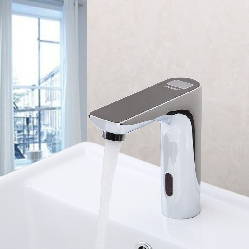 sensor mounted faucets electronic basin taps tap