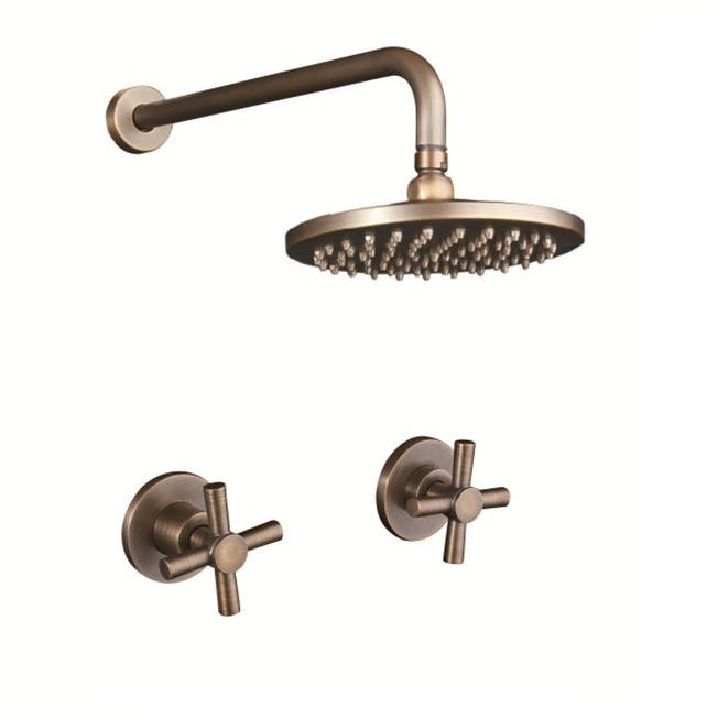 Juno brass shower head