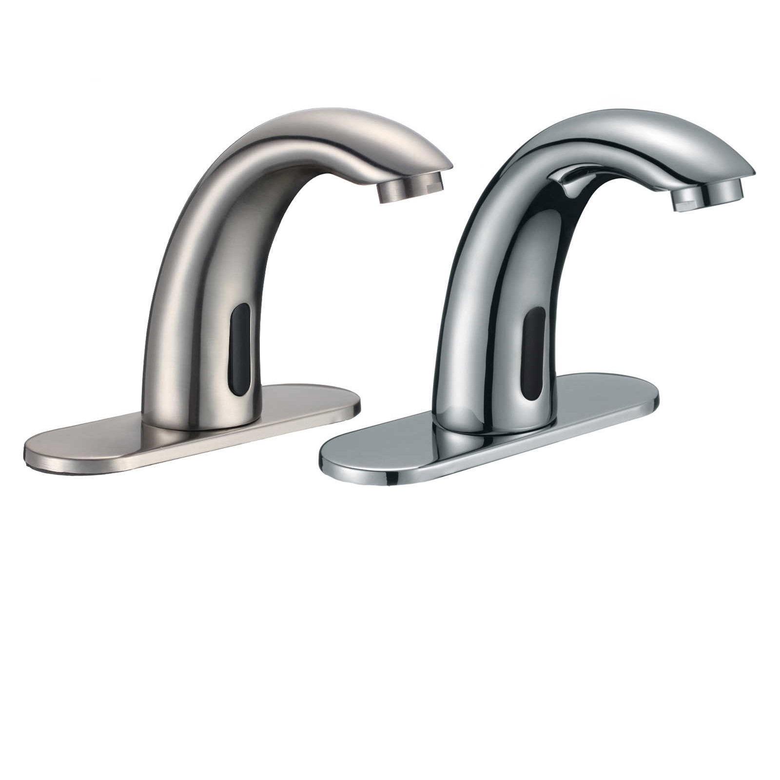 Lano Solid Brass Chrome Finish Sensor Faucet