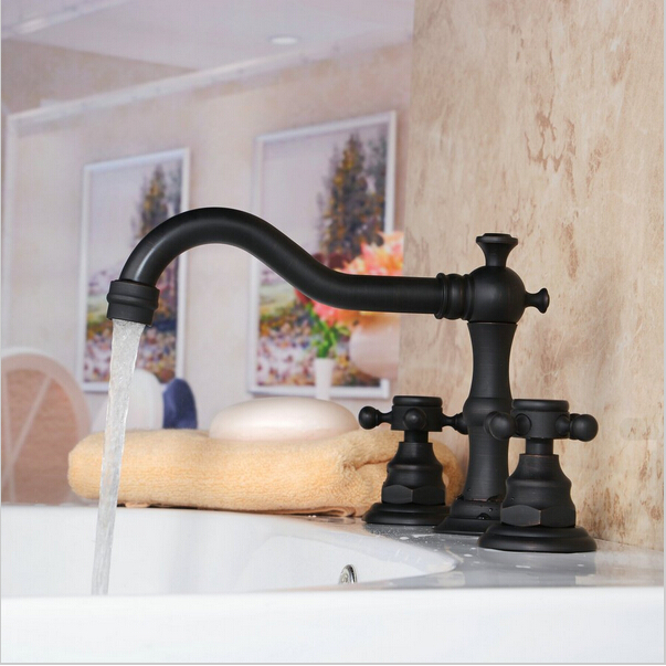 Bathroom and Kitchen faucet in Oil Rubbed Bronze