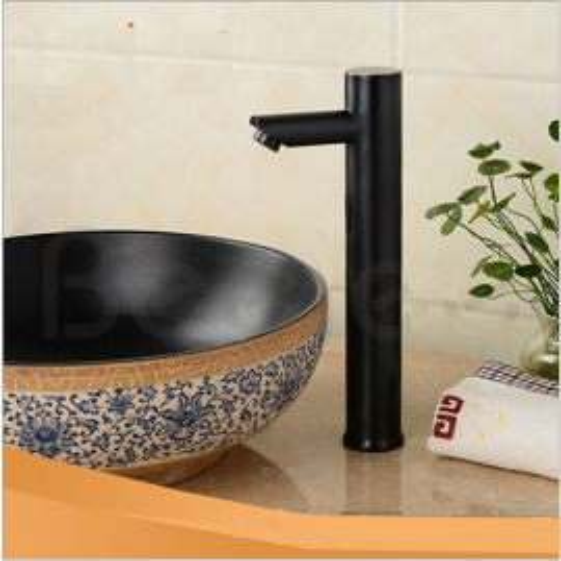 Motion Sensor Faucet Dark Oil Rubbed Bronze Bathroom