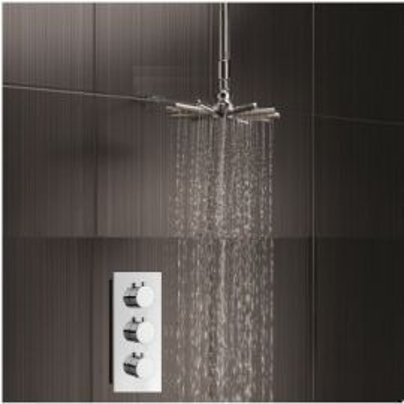 Neysa Waterfall Shower Set with Handheld Showers