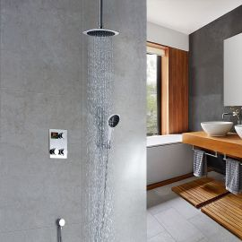Ceiling Mount Digital Rain Shower Systems