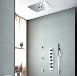 Juno 16 inch Misty Rain Shower