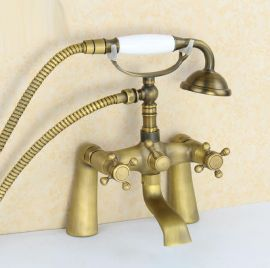 New Antique Design Claw Foot Bronze Bathtub Faucet