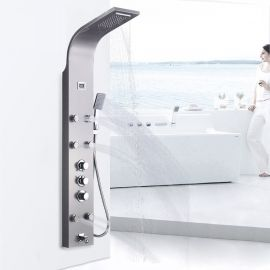 Juno Stainless Steel Thermostatic Shower Panel