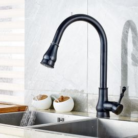 Juno Oil Rubbed Bronze Kitchen Sink Faucet