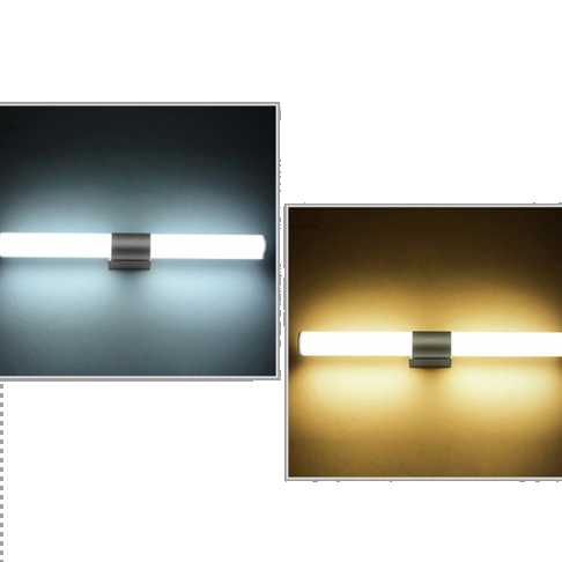 Modern Acrylic Led Tube Wall Lamps Bathroom Led Mirror Light 16w Ac85 265v