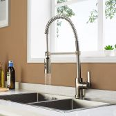 Juno Chieti Kitchen Faucet With Pull-Down Sprayer