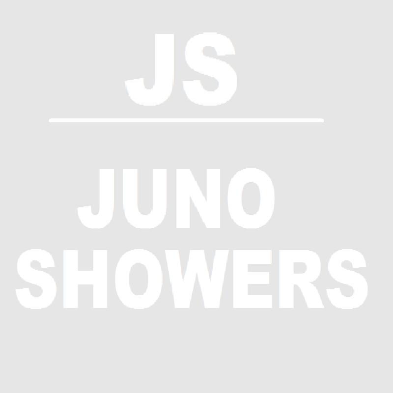 Juno Aluminum Bathroom Shelf White & Gold Rack Holder Storage Organizer