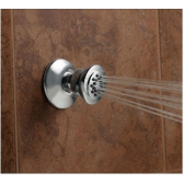 Juno Chrome Finish Solid Brass Square Body Shower Jets