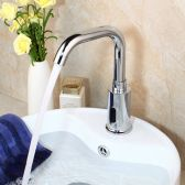 Juno Montreal Bathroom Sink Sensor Faucet For Cold And Hot Water
