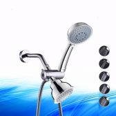 Juno Chrome 3-Way Bathroom Head & Handheld Rainfall Shower