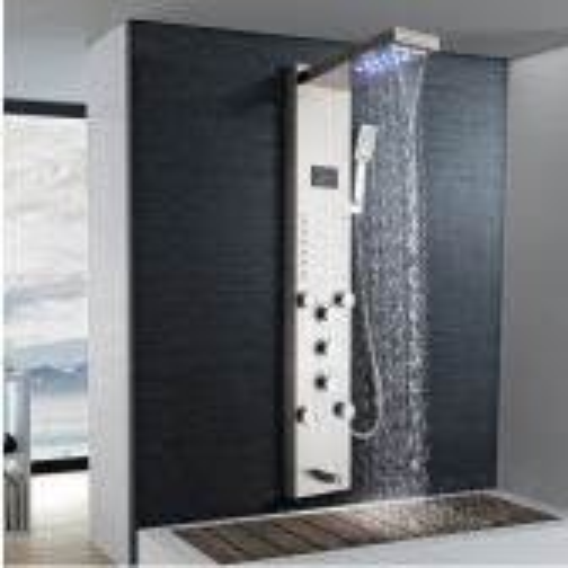 Juno Hydrotherapy 4 Ways Massage Shower Panel System with Handheld Shower