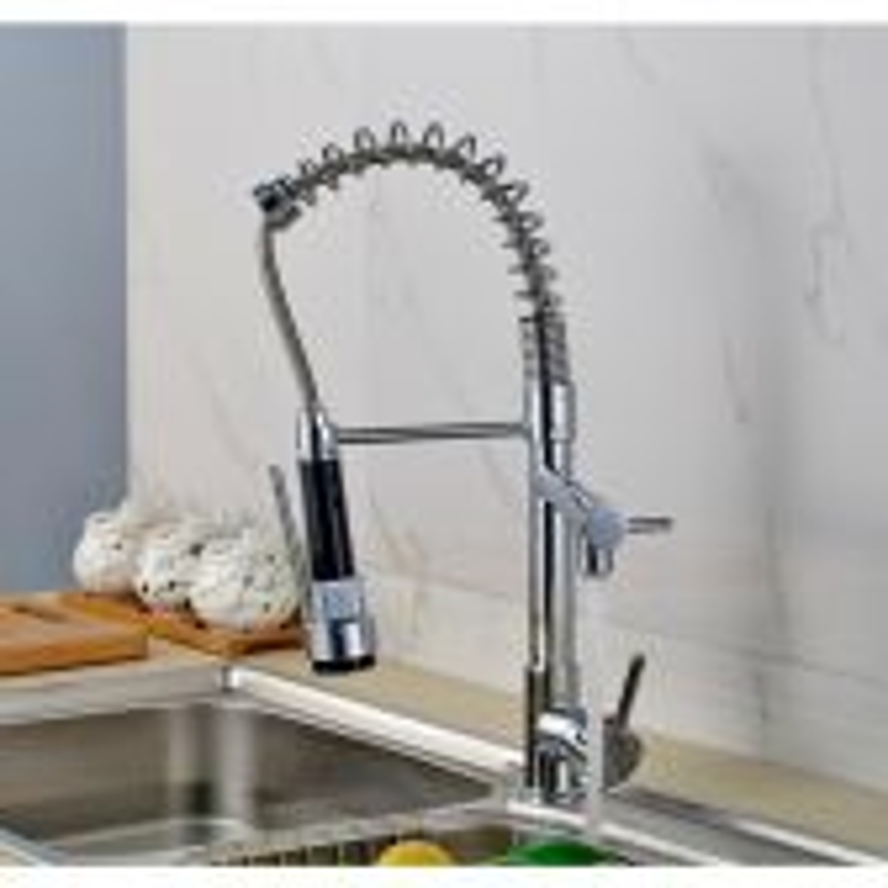 Juno Single Hole Chrome Kitchen Faucet Tap