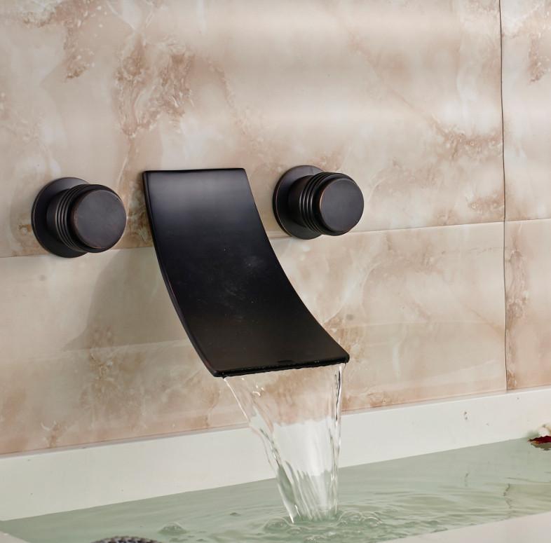 Retro Oil Rubbed Bronze Bathroom Basin Faucet