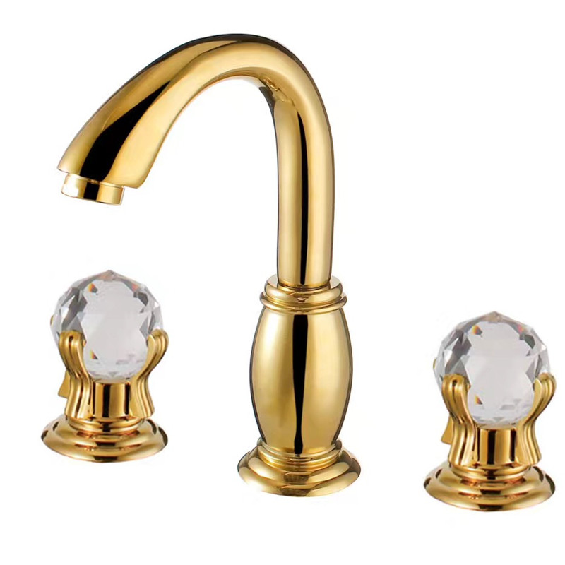 Handle Bathroom Sink Faucet