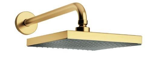gold rain shower head.  12 Gold Rain LED Shower Head