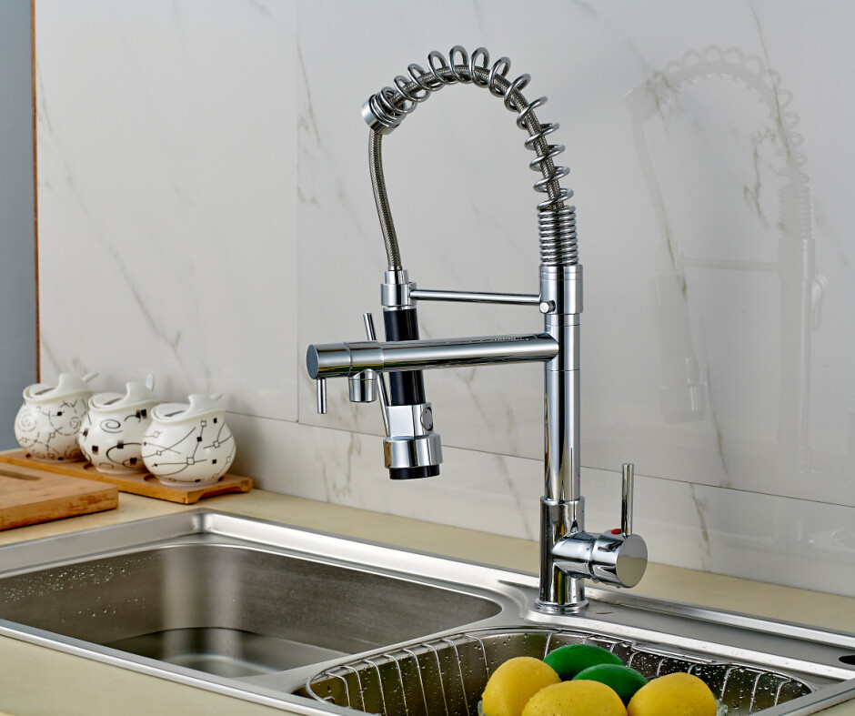 Pull Out Kitchen Sink Faucet