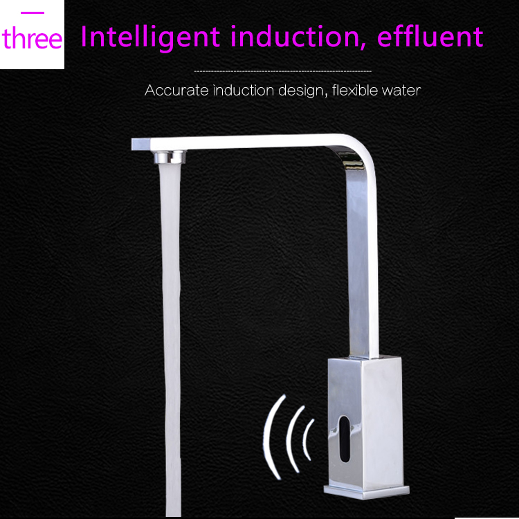 Siena Automatic Infrared Kitchen Sensor Faucet