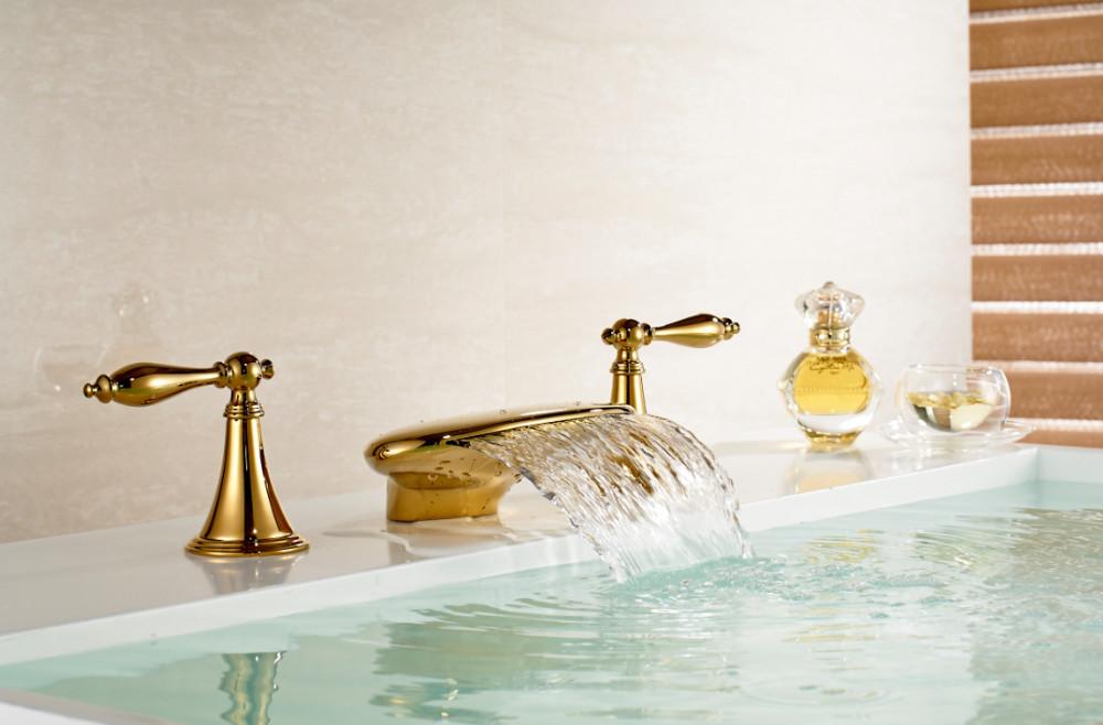 Maceio Led bathtub faucet