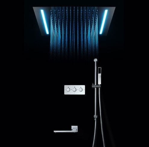 Juno 16 Color Changing Shower Head