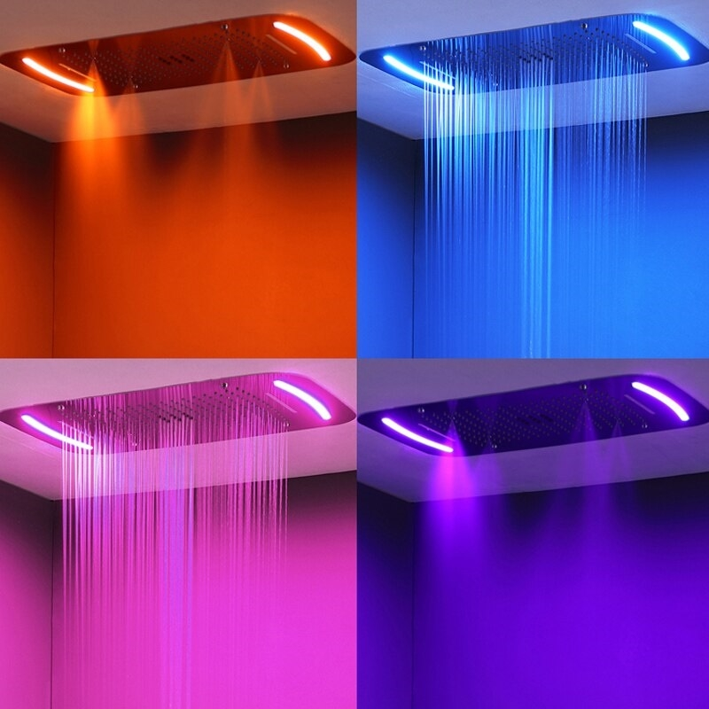 Juno 64 Colors LED Ceiling Mount Shower