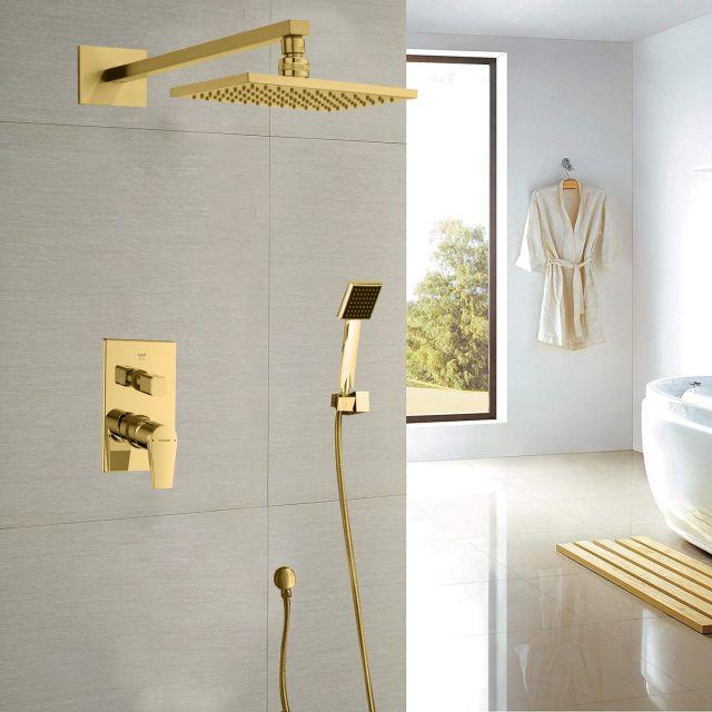 Juno Stylish Gold Shower system