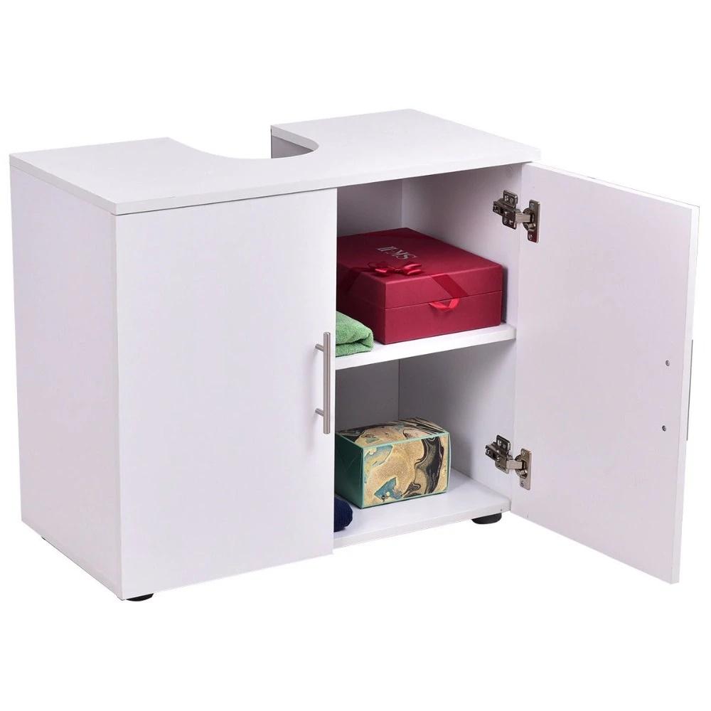Juno Wooden White Cabinet