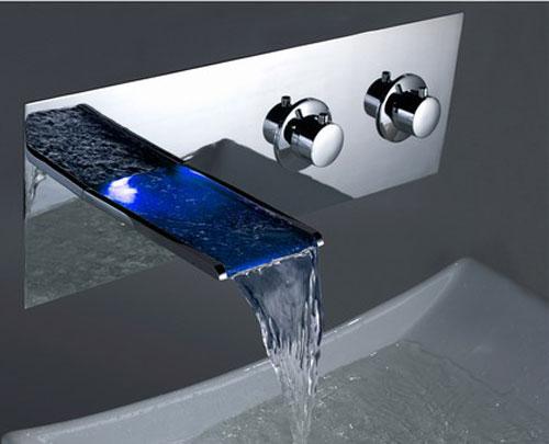led bathroom sink faucet