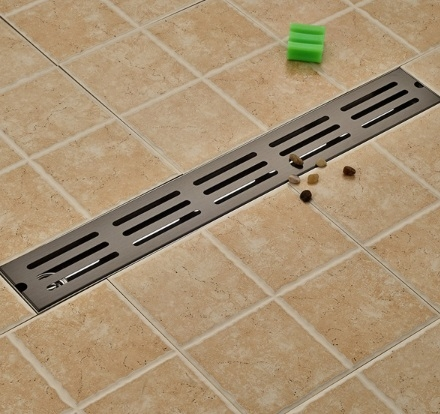 Line Oil-Rubbed Bronze Waste Water Bathroom Drain System