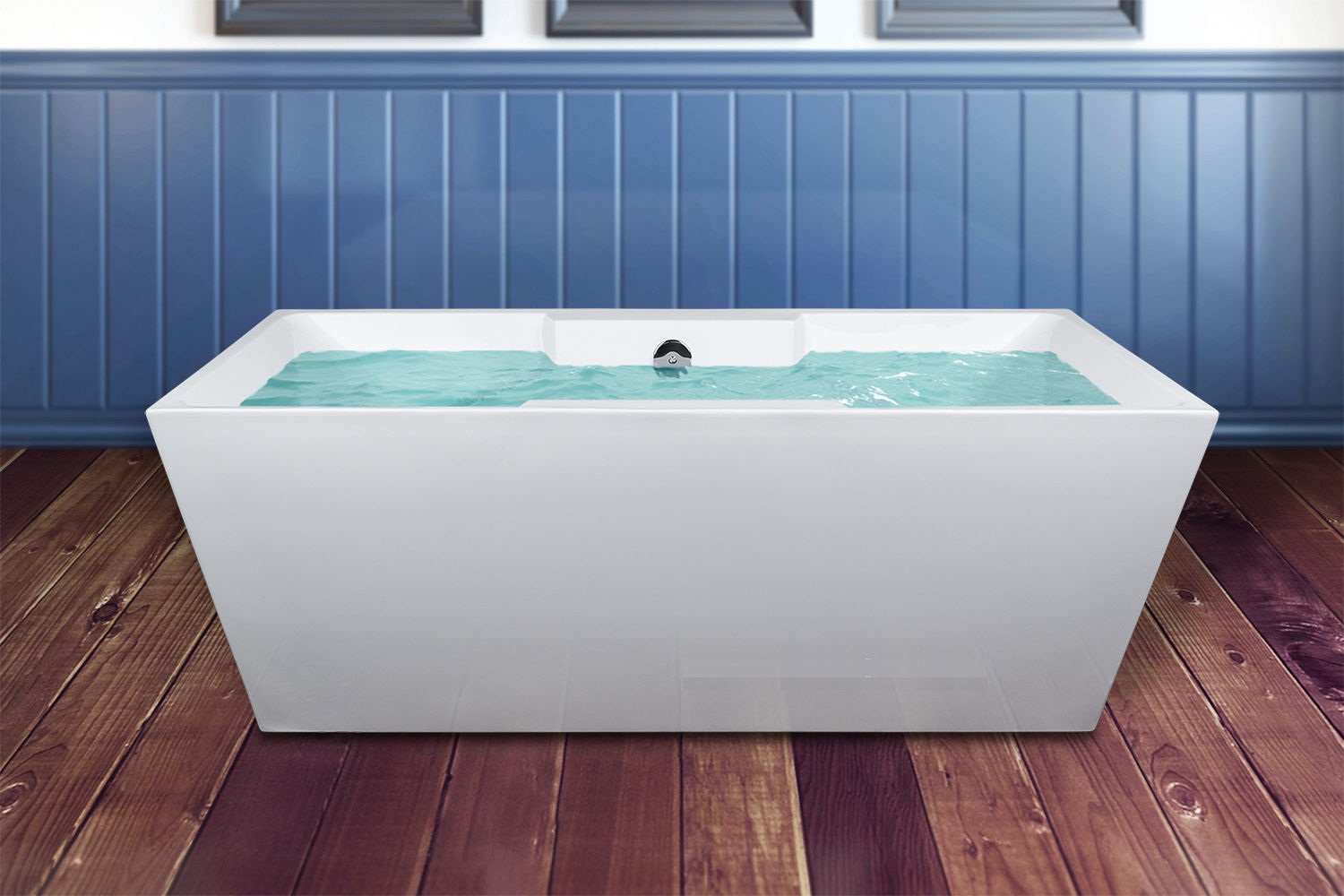 Modern Soaking Spa Freestanding Bathtub Acrylic Bathroom Shower Bathtub