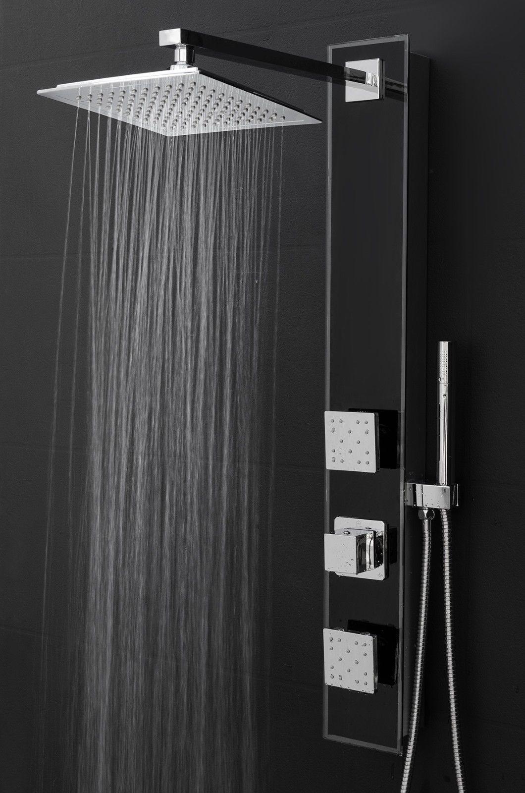 Stainless Steel Shower Panels | Massage Shower Panel