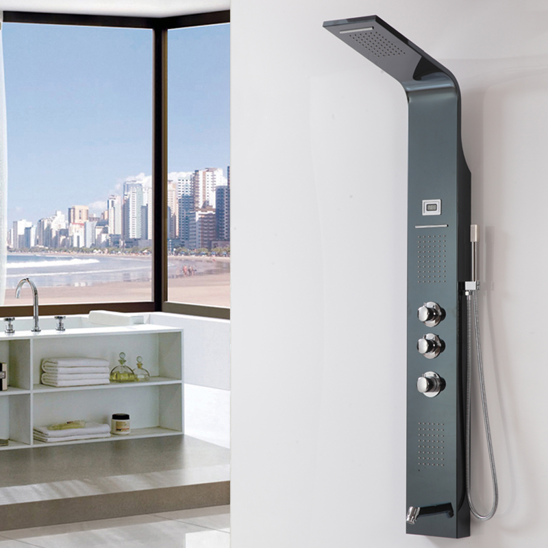 New Design Digital Display Oil Rubbed Bronze Shower Panel