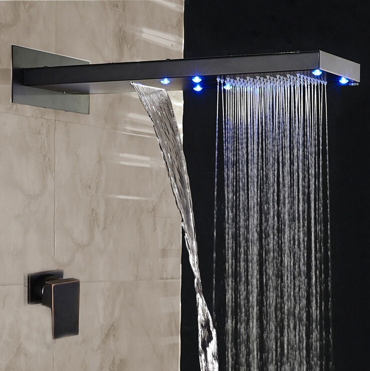 Luxury Oil Rubbed Bronze Shower Systems