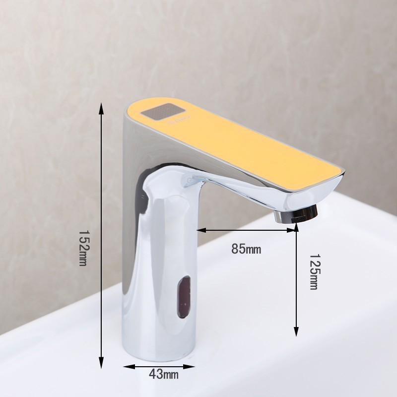 Motion Sensor Bathroom Touchless Faucet