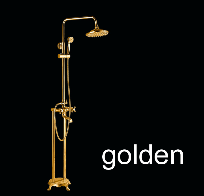 Quinn Free Standing Mounted Bathroom Tub Faucet