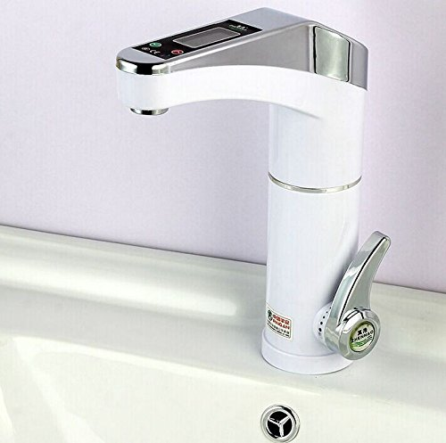 Quinn LCD Electric Heater Kitchen Faucet