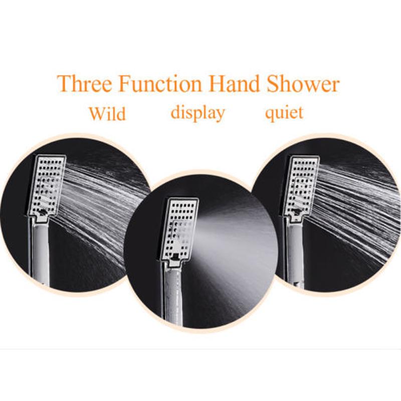 Maceió Bathroom LED Shower Faucet Panel