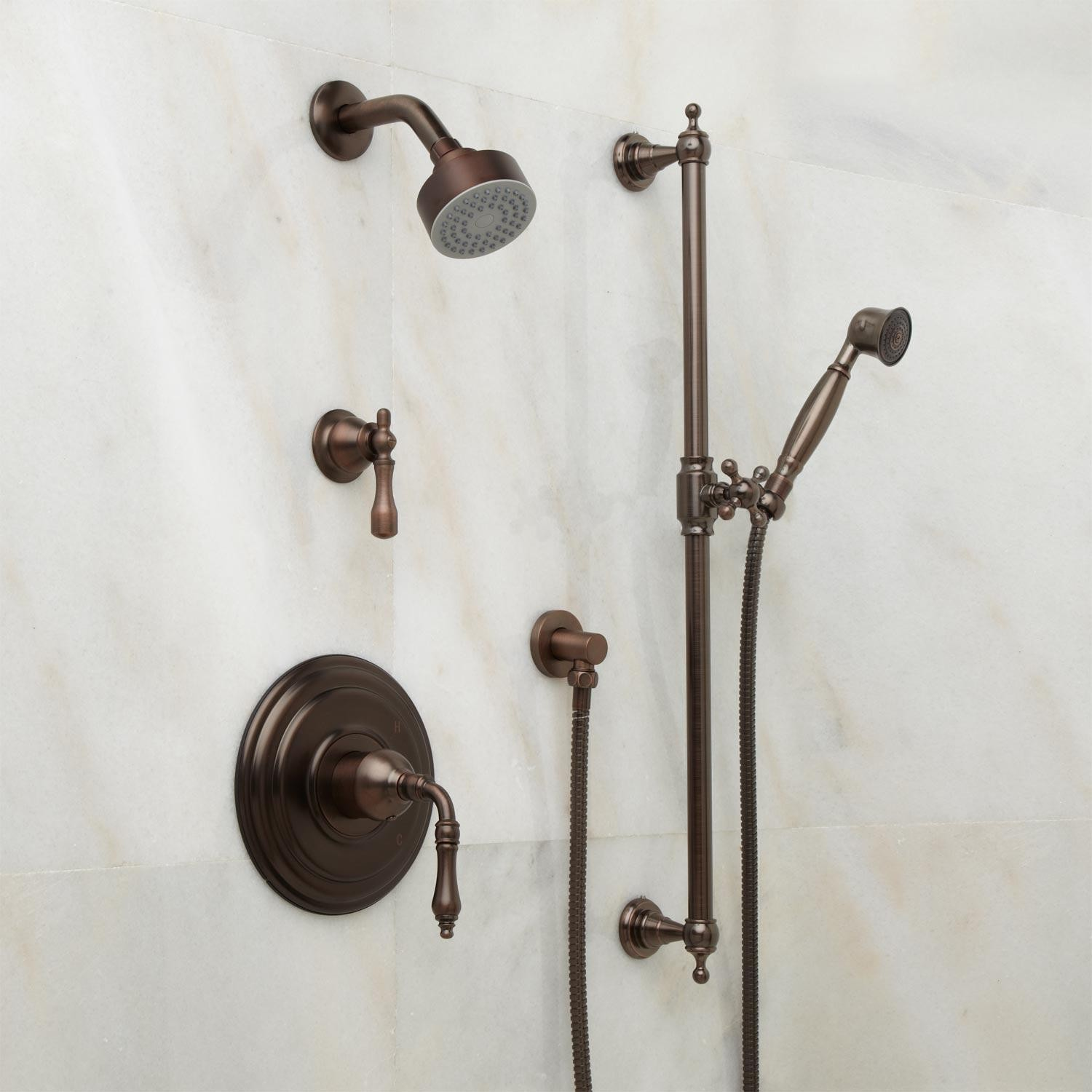 Oil Rubbed Bronze Shower Faucet Faucets Ideas
