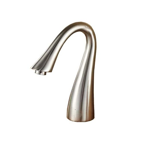 Vegas Brushed Nickel Deck Mount Bathtub Faucet with Hand-shower