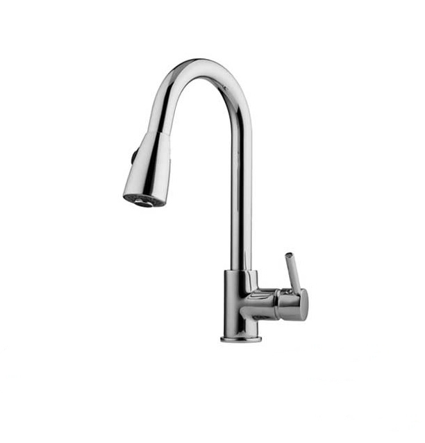 Long Neck Infrared Sensor Automatic Kitchen Sink Faucet