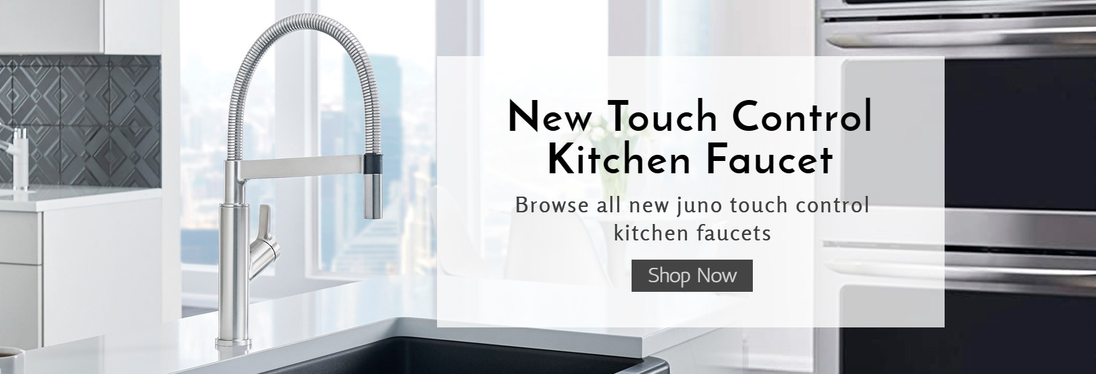 Touch Control Kitchen Faucets