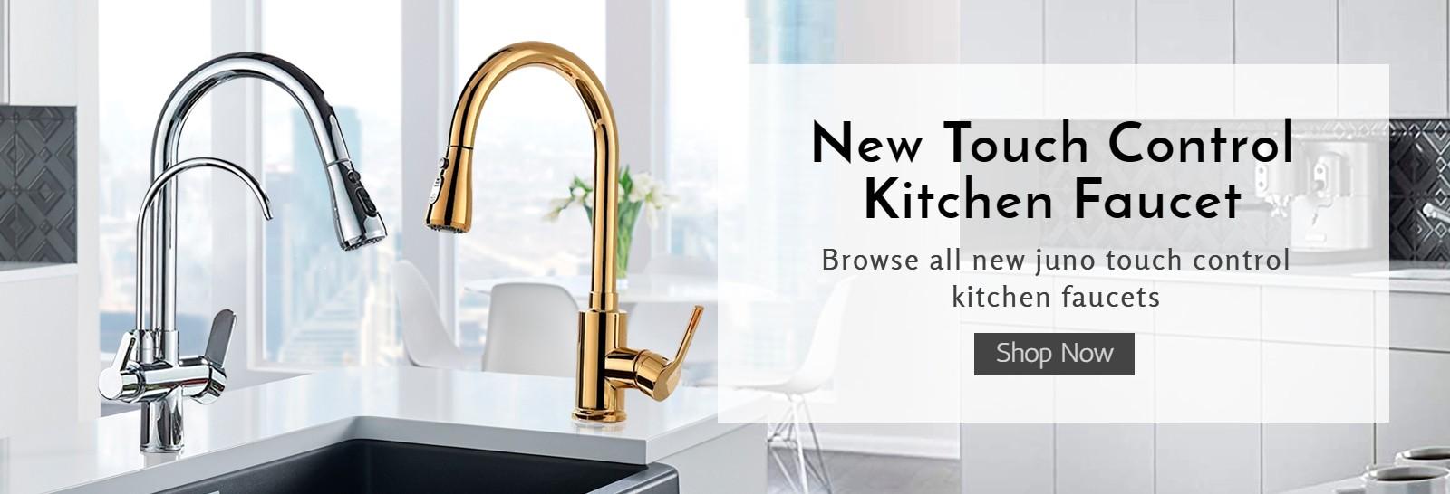Touch Control Kitchen Faucet