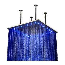 16 inch Multicolor Led Shower Head