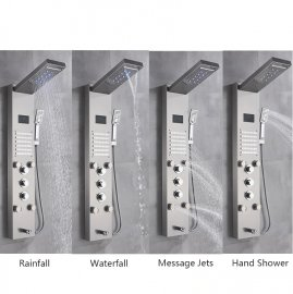 Juno Hydrotherapy Massage Shower Panel